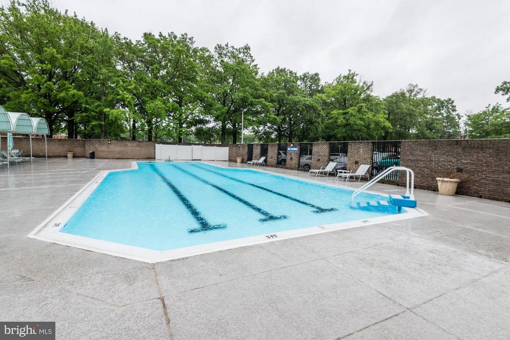 Outdoor pool - 1301 DELAWARE AVE SW #N-518, WASHINGTON