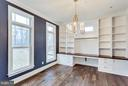 Home Office with Customized Built-ins - 3859 GANELL PL, FAIRFAX