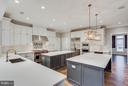 Double Island Kitchen - 3859 GANELL PL, FAIRFAX