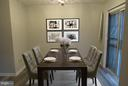 ~Virtually Staged Dining Room~ - 7144 MAHOGANY DR #3, LANDOVER