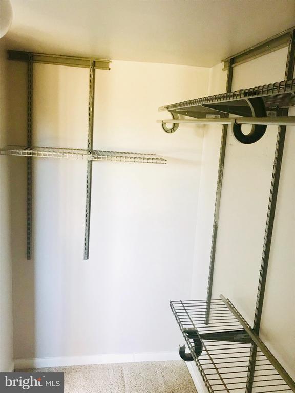 Walk in closet - 4410 OGLETHORPE ST #313, HYATTSVILLE