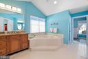 Large Master Bathroom - 5350 JACOBS CREEK PL, HAYMARKET