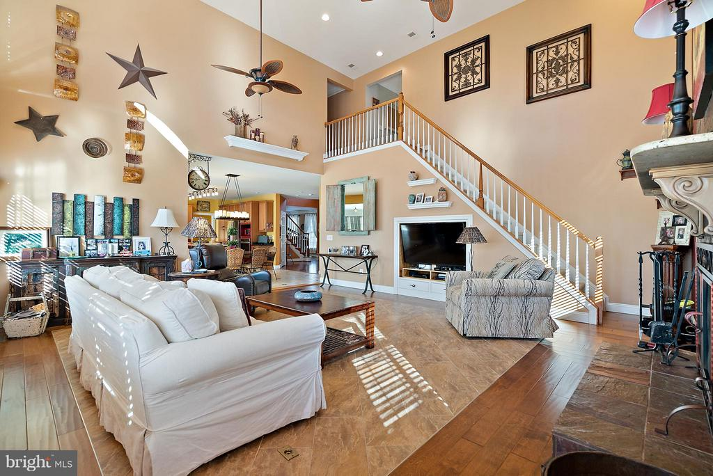 Second Stair Case From Family Room - 5350 JACOBS CREEK PL, HAYMARKET