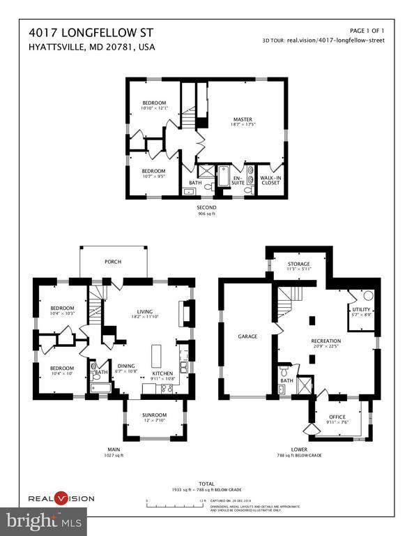 Floor Plan - 4017 LONGFELLOW ST, HYATTSVILLE