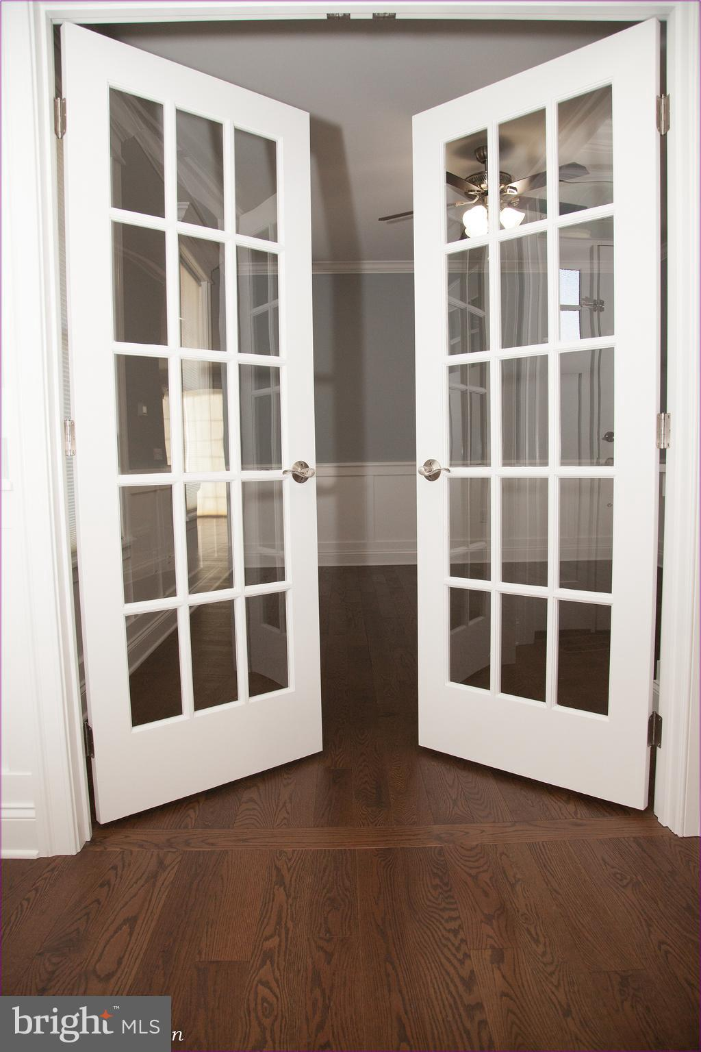 Office Room French Doors