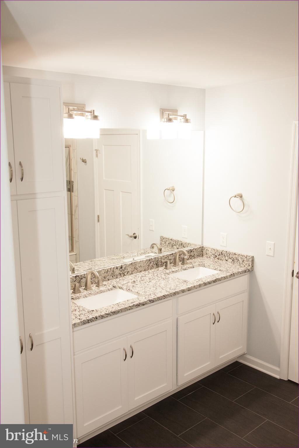 Beautiful Double Sink with Full Size Cabinets