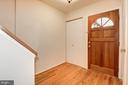 Entry Foyer - 2025 CHADDS FORD DR, RESTON