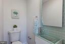 Main level bathroom - 5104 8TH ST NW, WASHINGTON