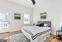 Master Suite with EnSuite & walkout Deck - 5104 8TH ST NW, WASHINGTON