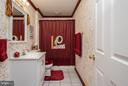 Hail to the Redskins! Full bathroom in the bsmt. - 9 SAINT CLAIRES CT, STAFFORD