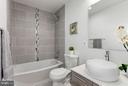 2nd Full Bathroom - 5104 8TH ST NW, WASHINGTON