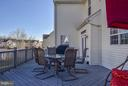 Composite deck is spacious. - 9 SAINT CLAIRES CT, STAFFORD