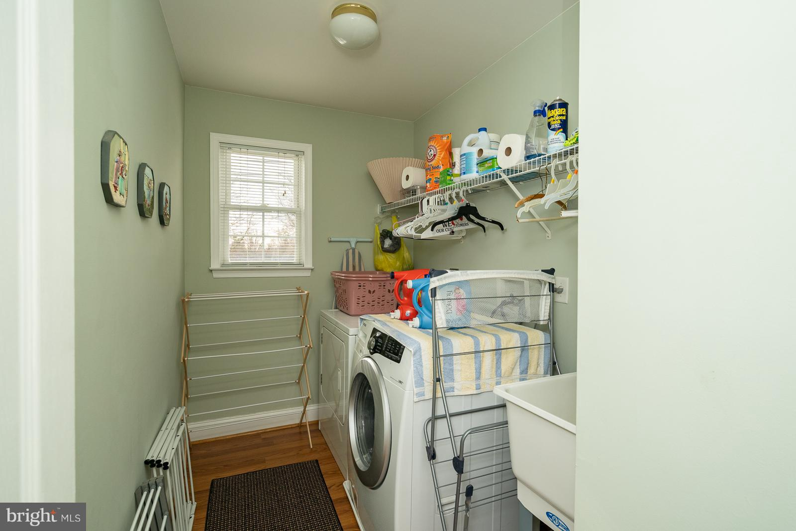 Upstairs Laundry