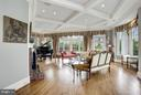 Family Room w/ windows on 4 Exposures - 1144 LANGLEY LN, MCLEAN