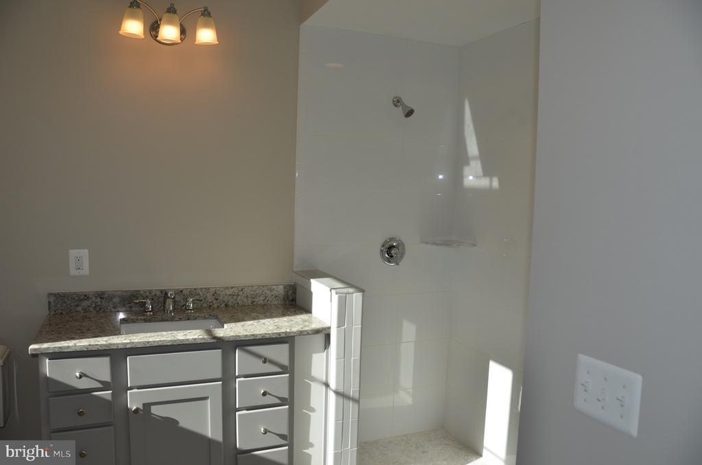 The Tinner owner's bathroom- nearly complete - 1022 RAILROAD AVE, FALLS CHURCH