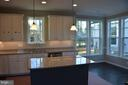 Tinner kitchen island - 1022 RAILROAD AVE, FALLS CHURCH