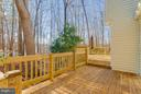 Large deck recently redone - 11316 LOCH NESS DR, FREDERICKSBURG