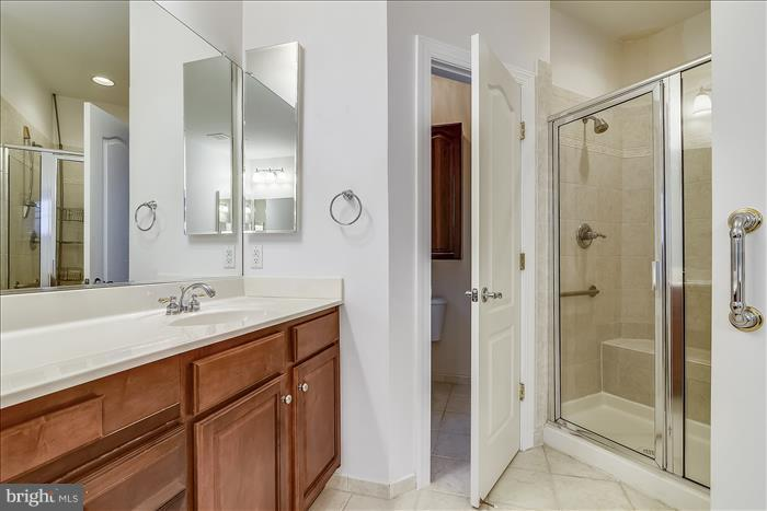Master Bath with Separate Shower and Soaking Tub - 18987 ROSSBACK TER, LEESBURG