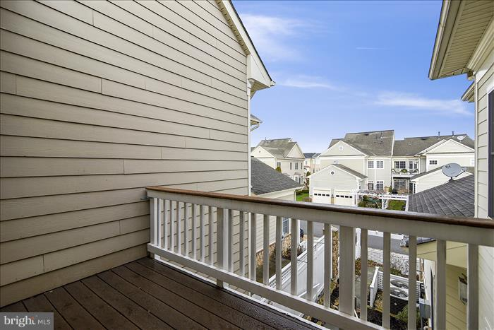 Balcony off of Master Bedroom - 18987 ROSSBACK TER, LEESBURG