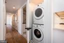Washer/Dryer in unit - 1245 PIERCE ST N #11, ARLINGTON