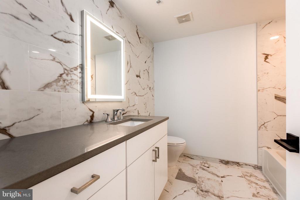 Hall bath - 1245 PIERCE ST N #7, ARLINGTON
