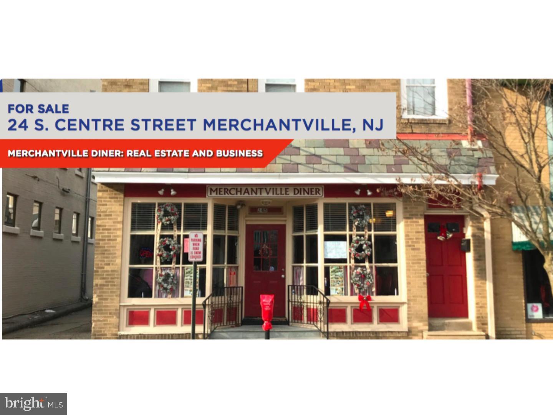 Maison unifamiliale pour l Vente à 24 S CENTRE Street Merchantville, New Jersey 08109 États-Unis