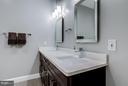 Spacious full bath with double sinks - 41629 WHITE YARROW CT, ASHBURN