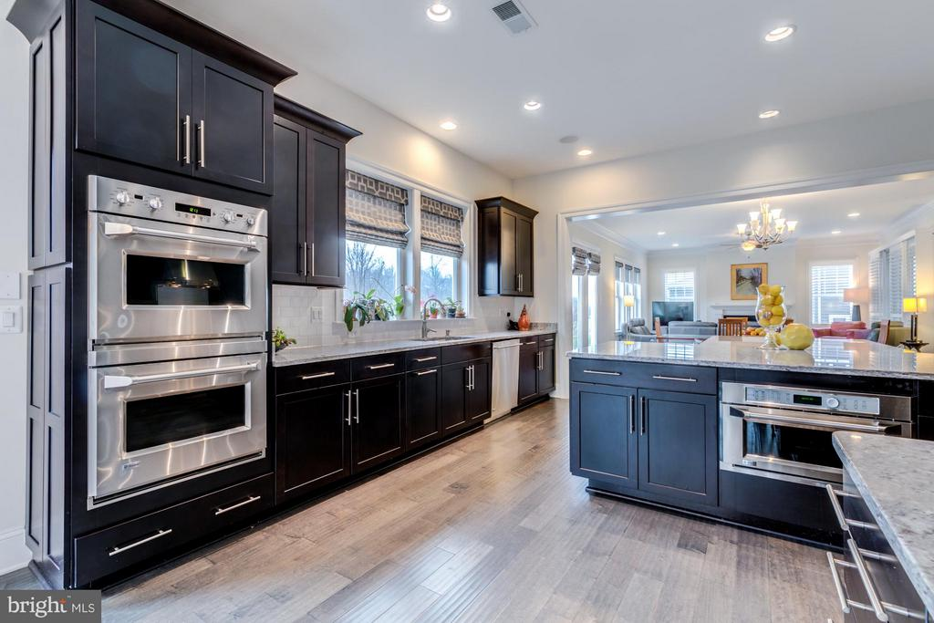 Stainless steel appliances and butlers pantry - 41629 WHITE YARROW CT, ASHBURN