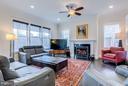 Large sun-filled family room - 41629 WHITE YARROW CT, ASHBURN