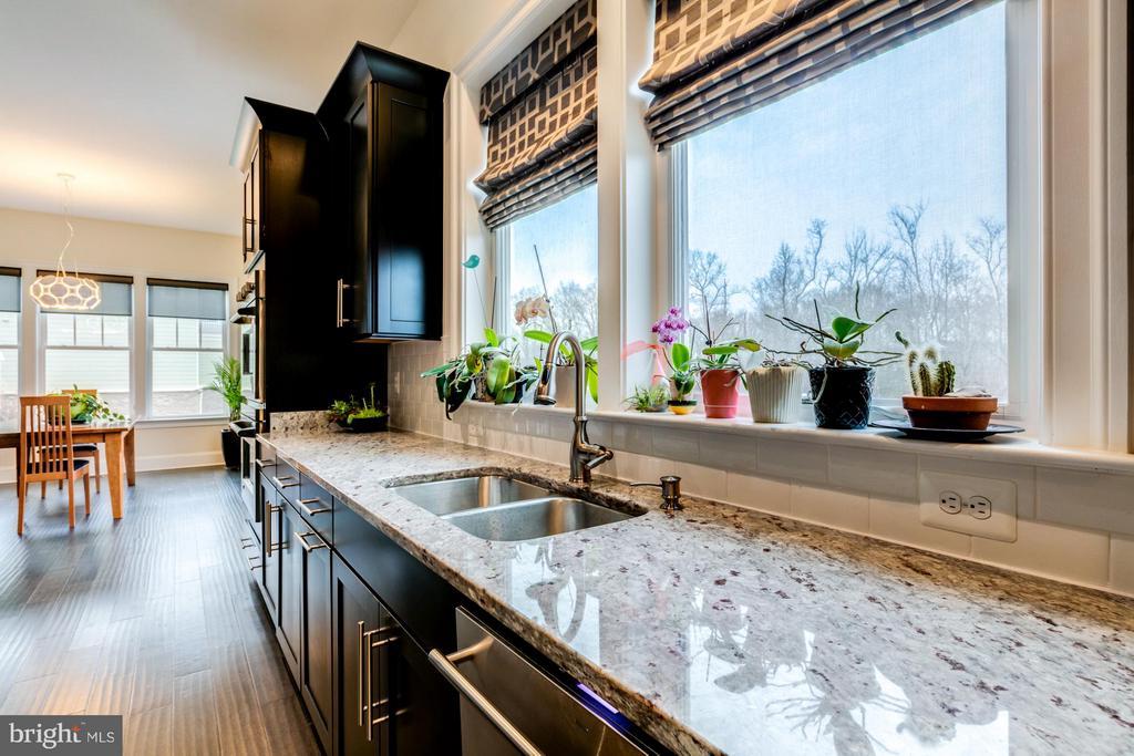 Beautiful granite countertops - 41629 WHITE YARROW CT, ASHBURN