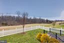 Relaxing back yard with beautiful views - 41629 WHITE YARROW CT, ASHBURN