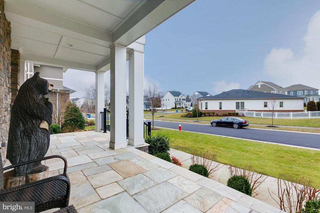 Gorgeous porch on double cul-de-sac street - 41629 WHITE YARROW CT, ASHBURN