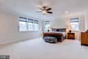 Generous owner's suite with views of mountains - 41629 WHITE YARROW CT, ASHBURN