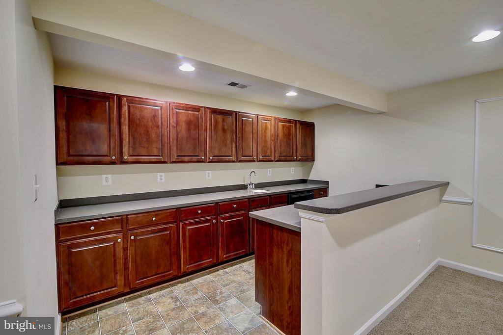 Lower Level Bar - 25804 SPRING FARM CIR, CHANTILLY