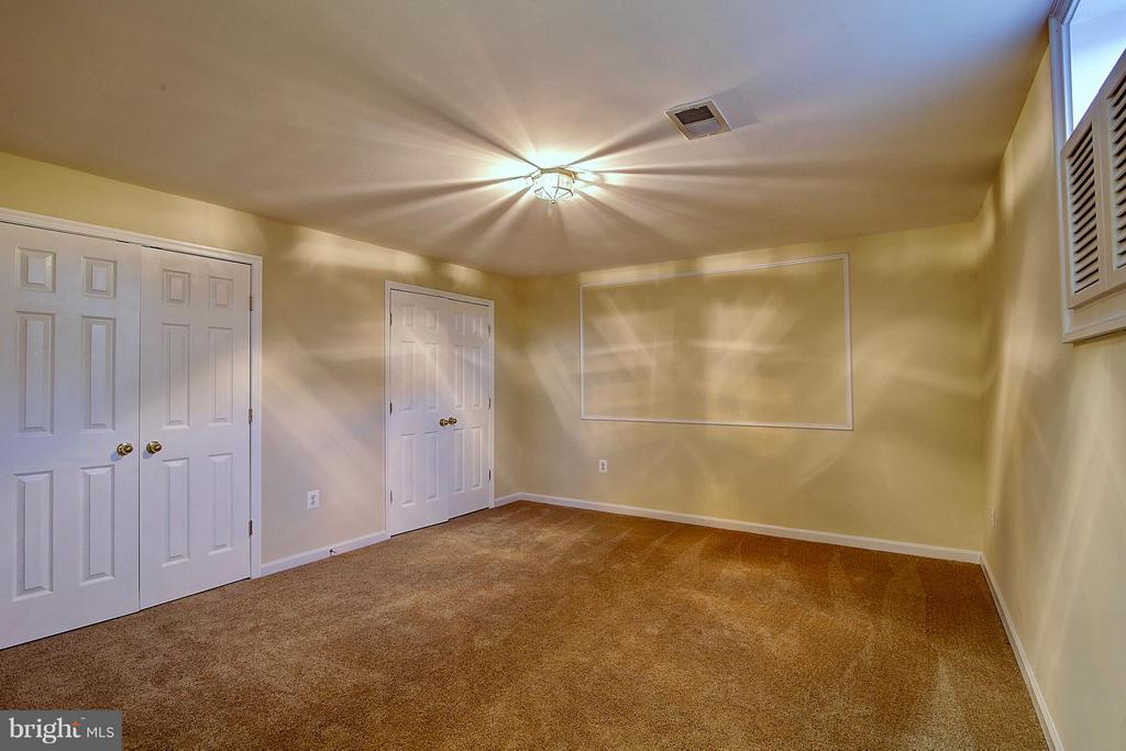 Lower Level Bedroom - 25804 SPRING FARM CIR, CHANTILLY