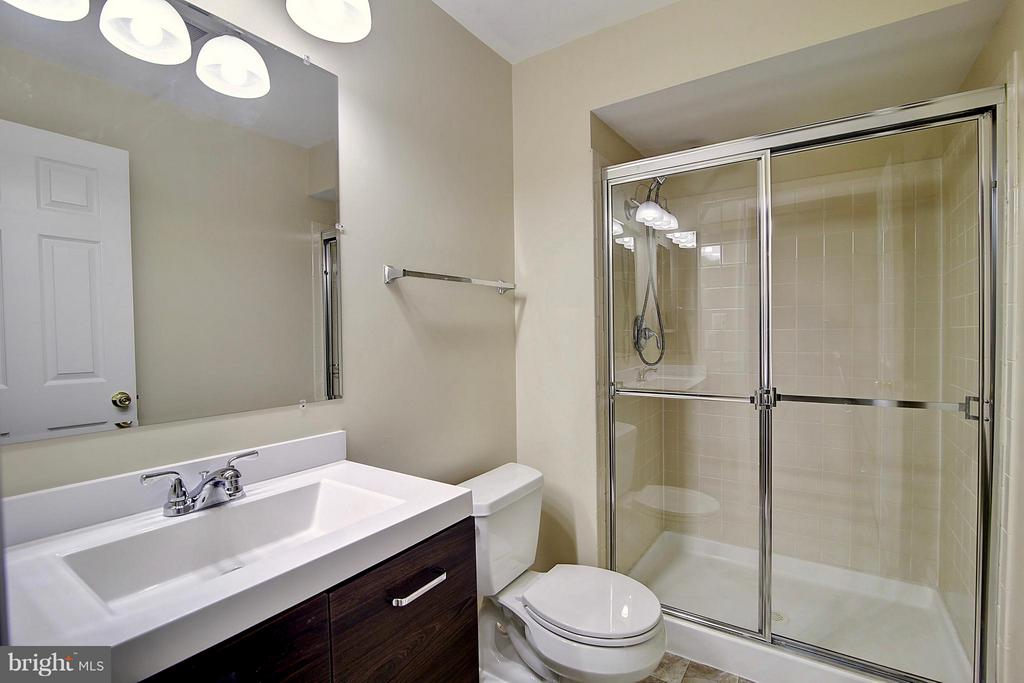 Lower Level Full Bath - 25804 SPRING FARM CIR, CHANTILLY