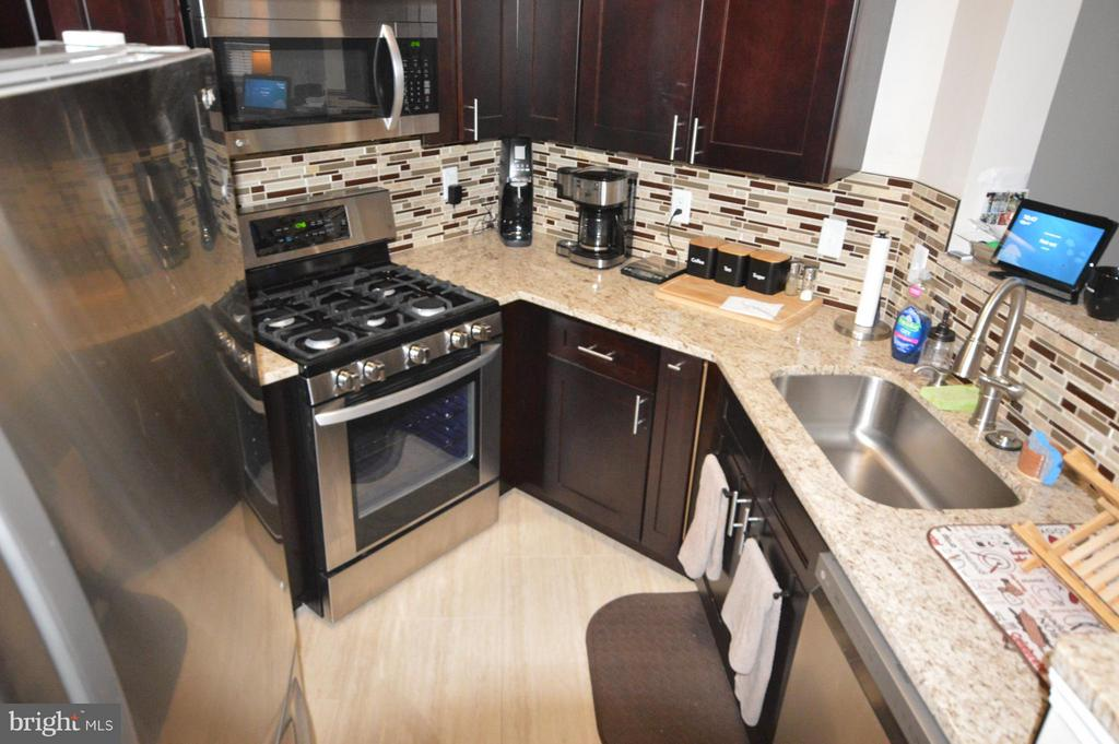 A cook's kitchen with a large pantry space as well - 14320 CLIMBING ROSE WAY #203, CENTREVILLE