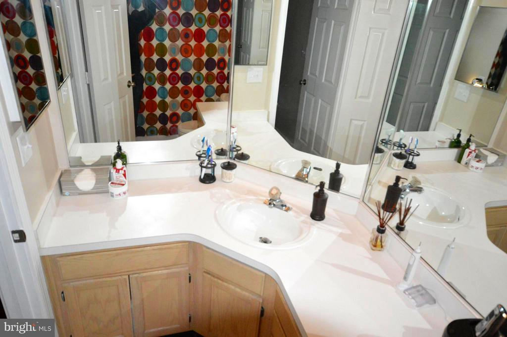 This master bath has room for two! - 14320 CLIMBING ROSE WAY #203, CENTREVILLE