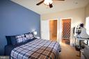 These bedroom are separated by the living space - 14320 CLIMBING ROSE WAY #203, CENTREVILLE