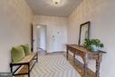 Foyer toward bedrooms - 4000 CATHEDRAL AVE NW #812B, WASHINGTON