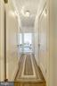 Hallway to private master suite - 4000 CATHEDRAL AVE NW #812B, WASHINGTON