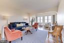Living Room & Solarium - 4000 CATHEDRAL AVE NW #812B, WASHINGTON