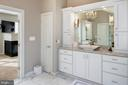 Mirror mounted lighting sconces - 5862 SADDLE DOWNS PL, CENTREVILLE