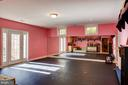 Bedroom- presently used as a dance studio. - 5862 SADDLE DOWNS PL, CENTREVILLE