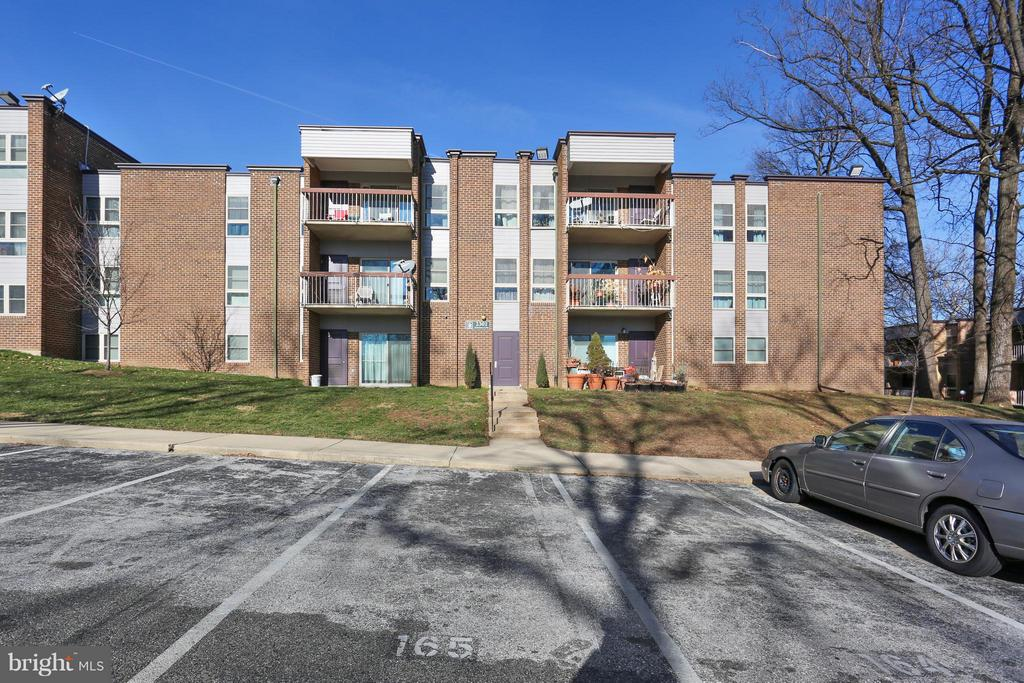 Back of Building - 2301 GREENERY LN #104-5, SILVER SPRING