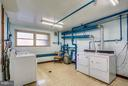 Laundry Room, only one level down. - 2301 GREENERY LN #104-5, SILVER SPRING
