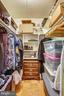 Master Bedroom Walk-In Closet - 2301 GREENERY LN #104-5, SILVER SPRING