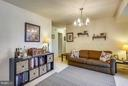 Well lit, spacious Family Room - 2301 GREENERY LN #104-5, SILVER SPRING