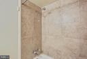 Master Bathroom updated Shower - 2301 GREENERY LN #104-5, SILVER SPRING