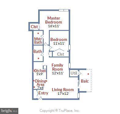 Floor Plan - 2301 GREENERY LN #104-5, SILVER SPRING